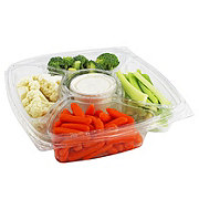 Central Market Vegetable Tray With Ranch