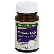 Central Market Vitamin A and D 10000 IU and 400 IU Softgels