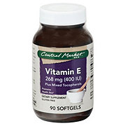 Central Market Vitamin E 400 IU Plus Mixed Tocopherols Softgels