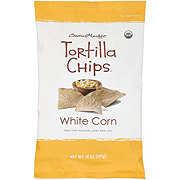 Central Market White Corn Tortilla Chips