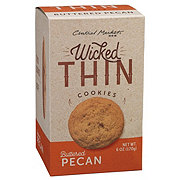 Central Market Wicked Thin Buttered Pecan Cookies