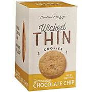 Central Market Wicked Thin Butterscotch Chocolate Chip Cookies