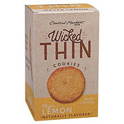 Central Market Wicked Thin Meyer Lemon Cookies