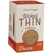 Central Market Wicked Thin Triple Ginger Cookies