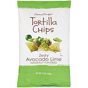 Central Market Zesty Avocado Lime Tortilla Chips