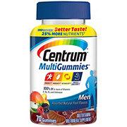 Centrum Men's Multi Gummies, Natural Cherry Berry & Apple
