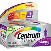 Centrum Silver 50+ Women's Multivitamin/Multimineral Supplement Tablets
