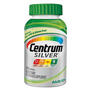 Centrum Silver Adults 50+ Multivitamin/Multimineral Supplement Tablets