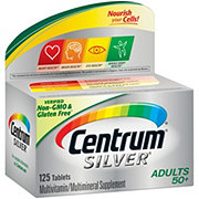 Centrum Silver Multivitamin/Multimineral Supplement Personalized For Adults 50+ Tablets