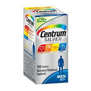 Centrum Silver Multivitamin/Multimineral Supplement Personalized For Men 50+ Tablets