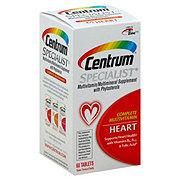 Centrum Specialist Complete Multivitamin/Multimineral Heart Tablets