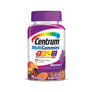 Centrum Women's Multi Gummies, Natural Cherry Berry & Orange