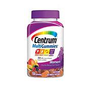 Centrum Womens Multigummies, Natural Cherry Berry & Orange