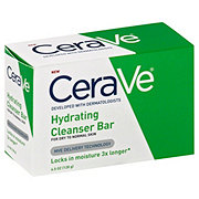 CeraVe Hydrating Cleanser Bar For Dry to Normal Skin