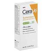 CeraVe Sunscreen Face Lotion SPF 30