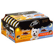 Cesar Breakfast & Dinner Wet Dog Food Variety Pack