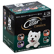 Cesar Canine Cuisine Dog Food, Poultry Multipack