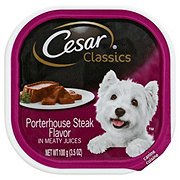 Cesar Canine Cuisine Porterhouse Steak Flavor In Meaty Juices