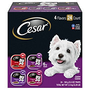 Cesar Classics Canine Cuisine 4 Flavor Variety Cube