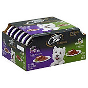 Cesar Classics Canine Cuisine Top Sirloin & Chicken Variety Pack