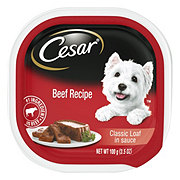 Cesar Classics Canine Cuisine With Beef In Meaty Juices