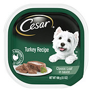 Cesar Classics Canine Cuisine With Turkey In Meaty Juices