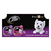 Cesar Classics Filet Mignon & Porterhouse Steak Wet Dog Food Variety Pack