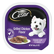 Cesar Classics Grilled Chicken Flavor in Meaty Juices Wet Dog Food