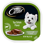 Cesar Classics Top Sirloin Flavor in Meaty Juices Wet Dog Food