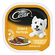 Cesar Classics with Chicken & Veal in Meaty Juices Wet Dog Food