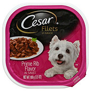 Cesar Gourmet Filets Prime Rib Single Dog Food