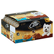 Cesar Home Delights Slow Cooked Chicken & Beef Stew Wet Dog Food Variety Pack