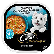 Cesar Home Delights Slow Cooked Chicken & Vegetables Dinner Wet Dog Food