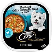 Cesar Home Delights Slow Cooked Chicken & Vegetables Dinner Wet Dog Food