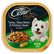 Cesar Home Delights Turkey & Potatoes Dog Dinner