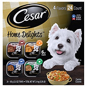 Cesar Home Delights Wet Dog Food Variety Pack