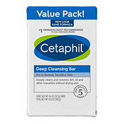 Cetaphil Deep Cleansing Bar 3 pk