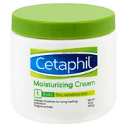 Cetaphil Fragrance Free Moisturizing Cream For Dry Sensitive Skin