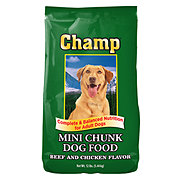 Champ Mini Chunk Dry Dog Food
