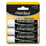 ChapStick Classic Original Skin Protectant/Sunscreen SPF 4 Value Pack