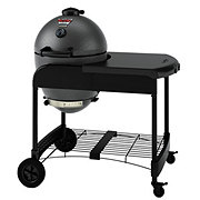 Char-Griller Kamado Grill On Cart With Cooking Stone