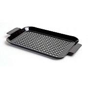 Charcoal Companion Black Porcelain Grilling Grid