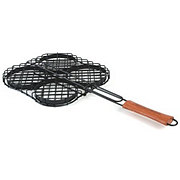 Charcoal Companion Hamburger Grilling Basket