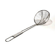 Charcoal Companion Small Stainless Steel Deep Fry Skimmer
