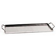 Charcoal Companion Stainless Plank Saver Tray with Handle