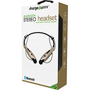 Chargeworx Bluetooth Gold Neck Headphones