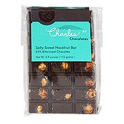 CHARLES CHOCOLATES Salty Sweet Hazelnut Chocolate