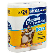 Charmin Essentials Soft Mega Roll Bath Tissue