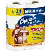 Charmin Essentials Strong Mega Roll Toilet Tissue