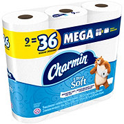 Charmin Ultra Soft Mega Roll Bath Tissue